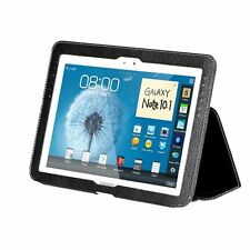 """Yobao Executive Real Leather Case for Samsung Galaxy Note 10.1""""  Black"""