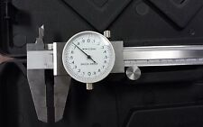 150mm PRECISION STAINLESS STEEL METRIC  DIAL CALIPER 0.02mm grad. #103-755-new