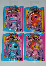 BARBIE - SPY SQUAD PETS - COMPLETE SET - PUPPY, KITTEN, OWL & RABBIT - RARE HTF