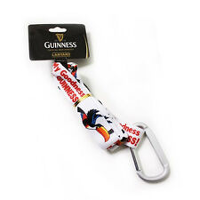 "Officially Liscensed Guinness Lanyard -  ""My Goodness Toucan"" White"