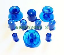 Xbox 360 Controller Mod Kit Clear Blue,Thumbsticks,Dpad,ABXY,Guide,Start/Select