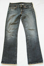29/31 womens grey 7 FOR ALL MANKIND bootcut denim jeans W29 L31