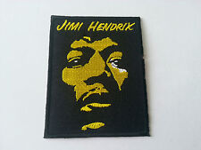 HEAVY METAL PUNK ROCK MUSIC SEW / IRON ON PATCH:- JIMI HENDRIX (a) PATCH No 0027