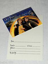 ~THE LORD OF THE RINGS ~8-INVITATIONS  WITH ENVELOPES , CHILD   PARTY SUPPLIES