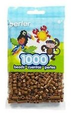 1000 Perler Light Brown Color Iron On Fuse Beads