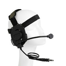 Adjustable Z Tactical Military Headset Headphone HD-03 Style Airsoft Mic Radio