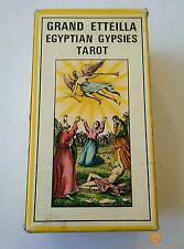 Grand Etteilla Egyptian Gypsies Tarot Cards 1969 B.P. Grimaud Ref G104 Complete