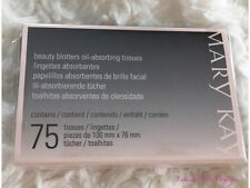 Mary Kay Beauty Blotters Oil-Absorbing Tissues 75 Tissues New Full Size