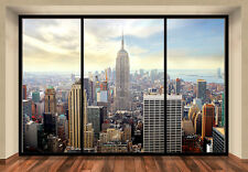"Mural De Pared De Ciudad de Nueva York ""Penthouse"" Foto Wallpaper 366x254cm Arte De Pared"