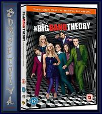 THE BIG BANG THEORY - COMPLETE SEASON 6 - SERIES 6 *BRAND NEW DVD*