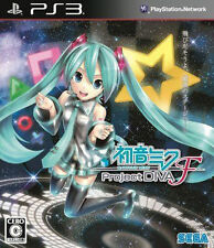 USED PS3 Hatsune Miku Project DIVA F (Japanese Version) Vocaloid