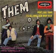 """THEM """"PORTLAND TOWN"""" ORIG FR EP 1967 BELFAST GYPSIES EX"""