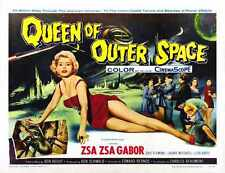Queen Of Outer Space Poster 02 A3 Box Canvas Print