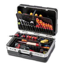 Parat Werkzeugkoffer Koffer 485.020-171 mit Einsteckfächern schwarz ohne Inhalt