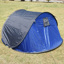 3-4Person Men Waterproof Camping Tent Automatic Pop Up Quick Shelter Outdoor Hik