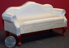 Dollhouse Miniature Queen Anne White Sofa Mahogany 1:12 scale E19 Dollys Gallery