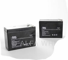 2 (two) Batteries 12 V 10 AH SLA f UPS, alarm, electric scooter, gokart bicycle