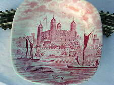 ENOCH WEDGEWOOD TUNSTALL Royal Homes of Britain Tower of London Teller