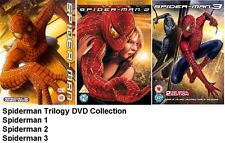 SPIDER MAN TRILOGY DVD TRIPLE PACK PART 1 2 3 TOBY MCGUIRE SPIDERMAN Sealed UK