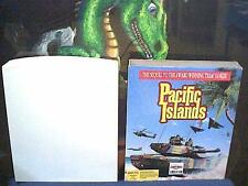 "1992 Pacific Islands tank simulator by Empire * boxed on 3.5"" disk for PC"