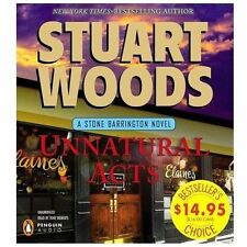 UNNATURAL ACTS by Stuart Woods (2013, CD, Unabridged) FREE SHIPPING