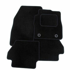 Tailored Black Velour Carpet Car Floor Mats for Vovlo XC90 02-14 With Clips