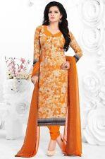 Elegant Crepe Designer Printed Unstitched Dress Material Suit D.No SFD8024