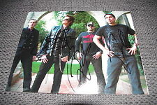 BLACK COUNTRY COMMUNION signed Autogramme Joe Bonamassa Glenn Hughes InPerson