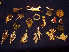 VINTAGE ESTATE JEWELRY LOT  AND MORE PINS BROACHES ETC MICRO MOSAIC