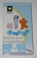 STRETCH your IMAGINATION cricut shape cartridge  - pre-owned but UNLINKED