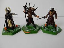 3 COMBAT HEX LORD OF THE RINGS FIGURES HARADRIM CHAMPION/WARRIOR/GUARD F COURT 9