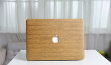 Wood pattern Crystal hard case shell keyboard cover For Macbook Pro 13 Retina
