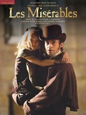 Les Miserables Sheet Music Easy Piano Selections from the Movie Vocal  000114336