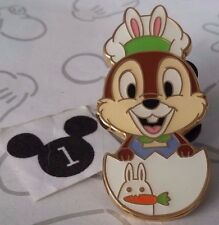 Easter 2016 Chip & Dale Bunny Ears Egg Game Prize Tokyo Disneyland Disney Pin