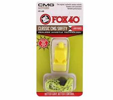 Fox40 Classic CMG Whistle Outdoors, Safety, Sports Yellow 9603-0208