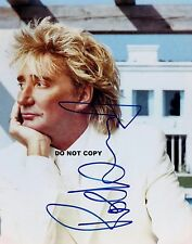 ROD STEWART 8X10 AUTHENTIC IN PERSON SIGNED AUTOGRAPH REPRINT PHOTO PICTURE RP