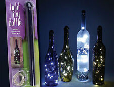 Fortune Light My Way LED Bottle Light 2 Pack Mini Fairy String Lights Wine Decor