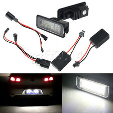 2 Error free 24LED 3528 SMD License Plate Light Fit VW Golf GTI MK5/6 PASSAT B6