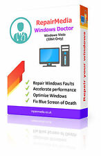 Windows vista medico i dati riparazione recupero la reinstallazione DVD SOFTWARE PC (32bit)