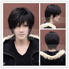 Durarara Izaya Orihara Kostüm männliche kurze schwarze Cosplay Perücke RW46