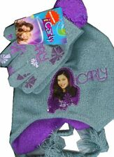 ICarly Knit Hat and Gloves mittens 2 pieces set Disney
