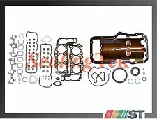 05-13 Dodge Jeep 3.7L V6 Engine Full Gasket Set Oil Pan Gasket Power-Tech motor