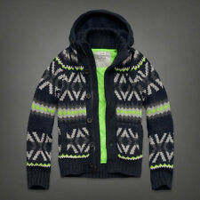 NWT Abercrombie Mens Giant Mountain Sweater Sz S Retail $250