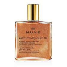 NUXE Huile Prodigieuse Multi Purpose Dry Oil Face Body Hair - Gold Shimmer .33oz