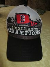 Boston Red Sox Black & White  Ball Cap Hat AL Champions 2013 Fits Most New
