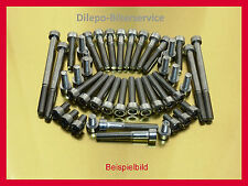 Honda ntv 650 Revere v2a tornillos tornillos acero inoxidable frase motor tornillos
