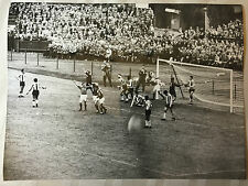 photo press football   World Cup 1958  France-Paraguay        248
