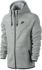 NIKE TECH FLEECE PACK WINDRUNNER HOODIE JACKET SIZE S HEATHER GREY NSW BLACK NWT