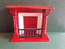 1/12th Scale. Dolls House. Mahogany Fireplace.