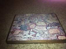ANTIQUE VINTAGE MAP EUROPE EUROPAE RARE ANTIQUITY COLLECTION